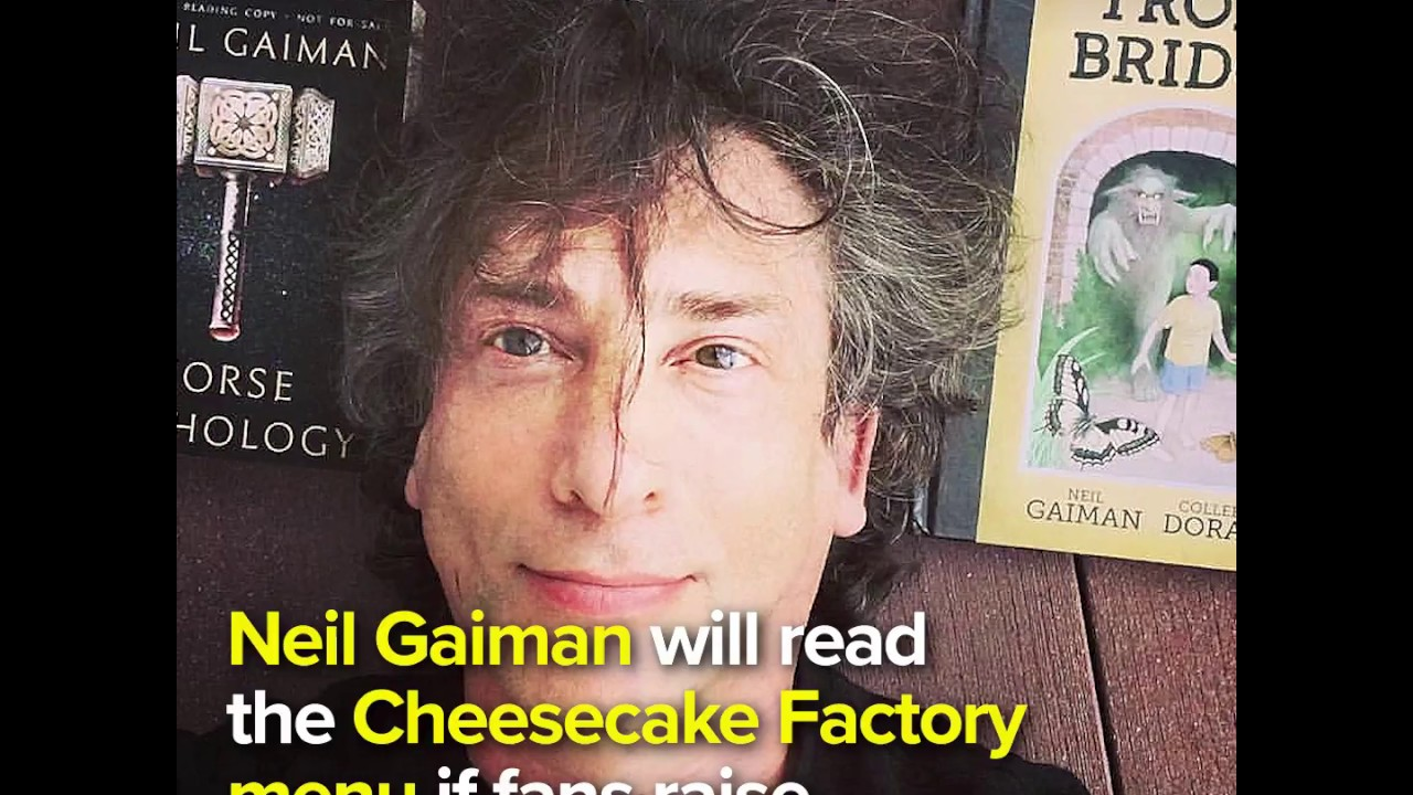 Neil Gaiman Cheese Cake