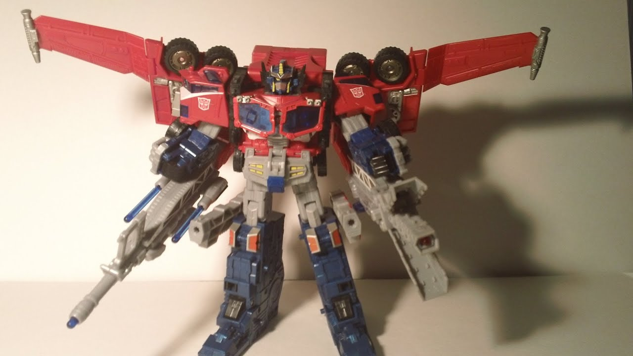 Transformers Cybertron Leader Class Optimus Prime - YouTube