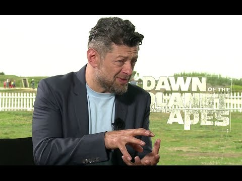 Andy Serkis Interview - Dawn of the Planet of the Apes (2014) JoBlo.com HD