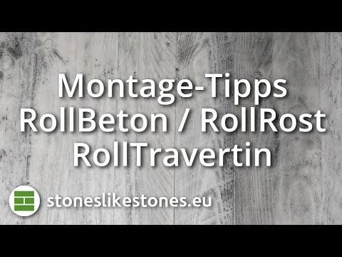 Montage - Rollbeton & Rollrost