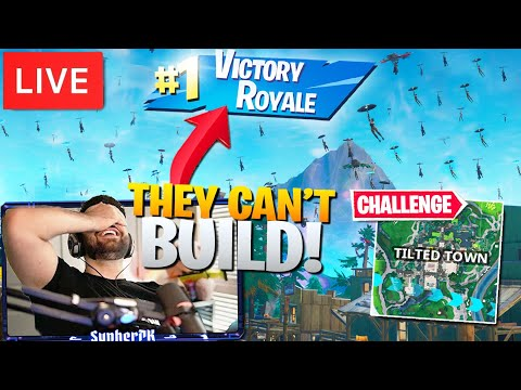 I Told 100 Streamsnipers To Drop Tilted Town And WON! (Fortnite Battle Royale)