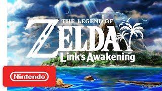 The Legend Of Zelda: Link's Awakening   Announcement Trailer   Nintendo Switch