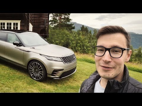 Гламур и дисплеи: тест-драйв и обзор Range Rover Velar 2018