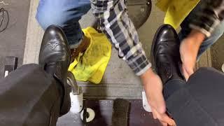 ASMR   Shoe Shine ASMR   Angelo's Best Shoe Shine.