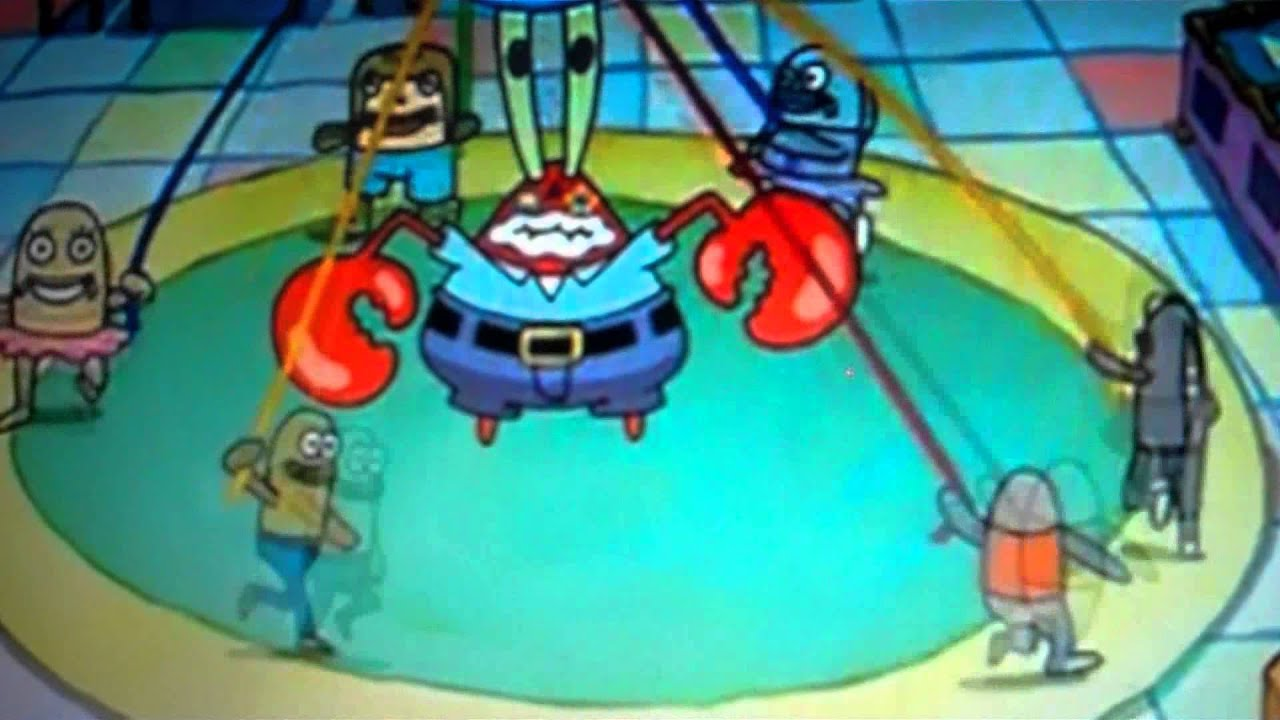 Can You It Krabs Feel Mr