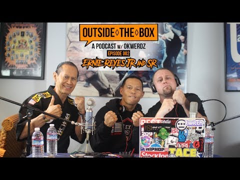 Ernie Reyes Jr. & Sr.   TMNT, Surf Ninjas & Hip Hop  Outside The Box: A Podcast w Okwerdz 002