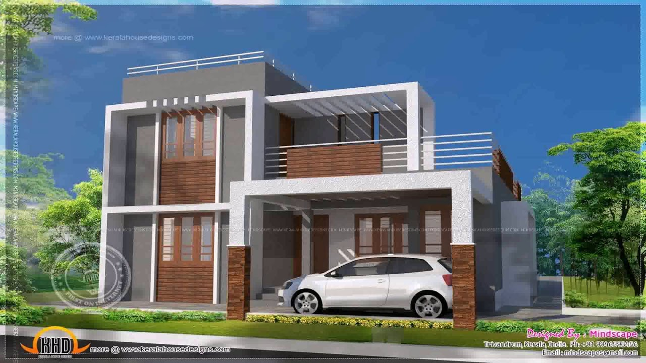 Flat Roof Indian House Plans Gif Maker Daddygif See