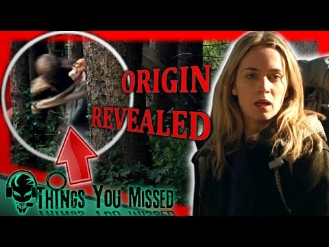 32 Things You Missed In A Quiet Place (2018) + Creature Origin Revealed