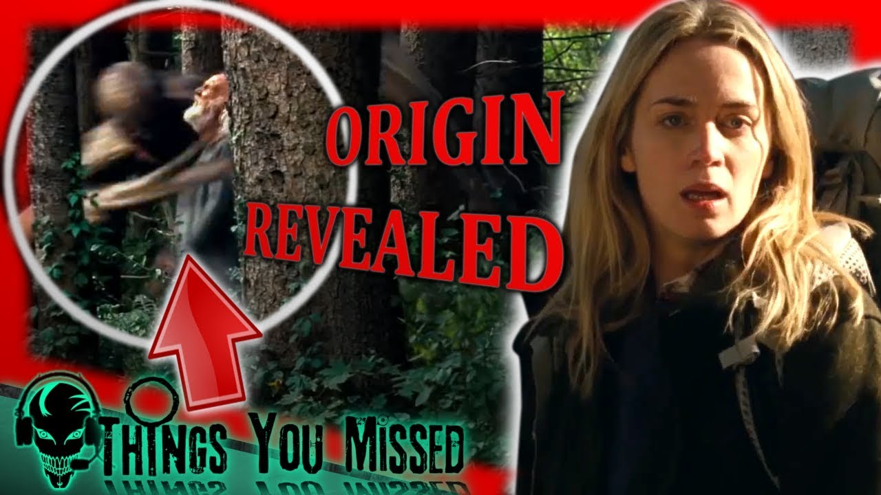 32 Things You Missed In A Quiet Place 2018 Creature Origin Revealed