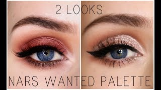 2 Looks 1 Palette New Nars Wanted Palette Youtube