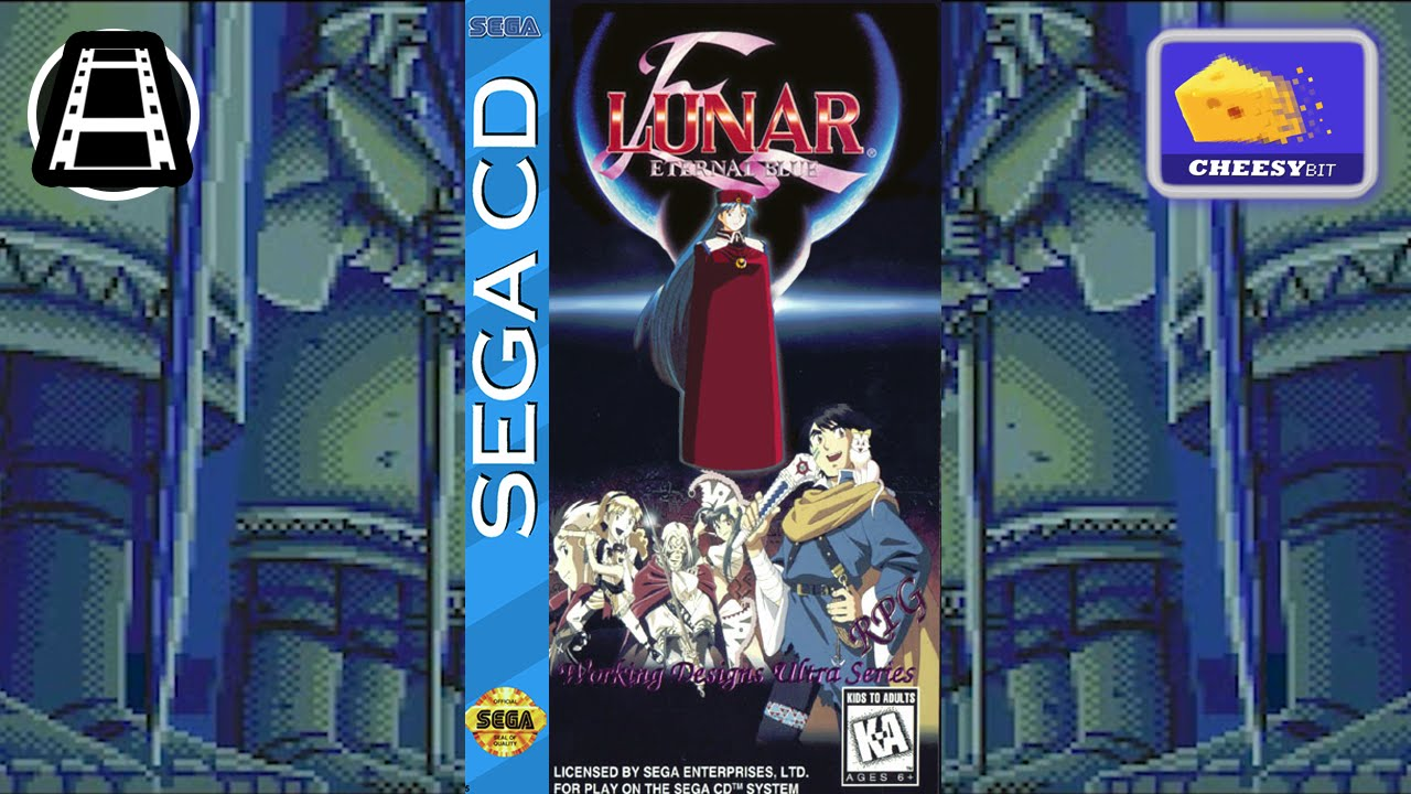 Lunar Eternal Blue All Cut-Scenes - Sega CD : HD60