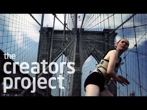 Making Music with the Brooklyn Bridge | The Human Harp