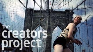 Making Music with the Brooklyn Bridge | The Human Harp