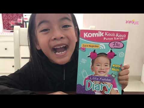 Tips jadi Penulis Anak ala Zara Cute | Yeay buku Komik KKPK Zara sudah ada di Toko Buku Gramedia