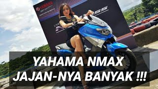 #ReviewJujur - Review YAMAHA NMAX - 2015 First Ride Review Indonesia - Huddan OtoVlog