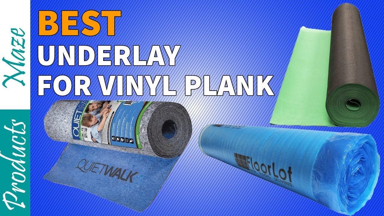 Best Underlayment For Vinyl Plank Flooring Reviews 2020 ...