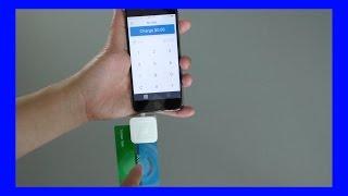 Square Reader for EMV Chip Credit Cards !