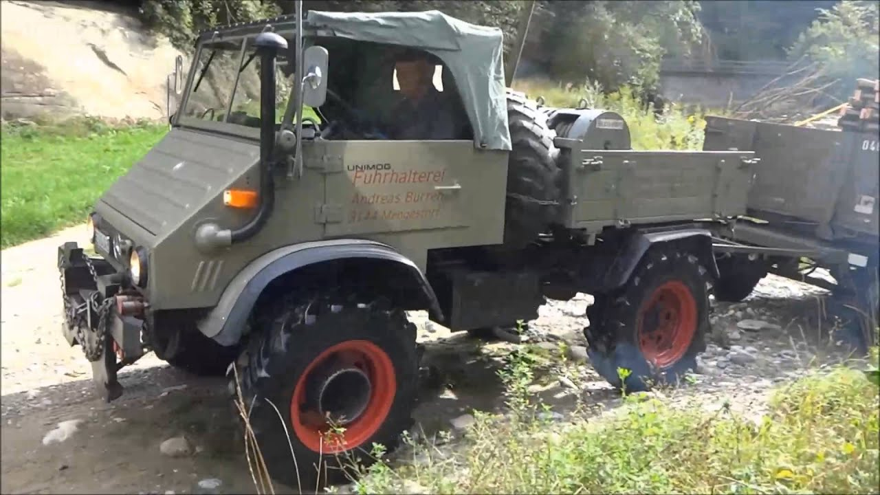 unimog 411 im transport youtube. Black Bedroom Furniture Sets. Home Design Ideas