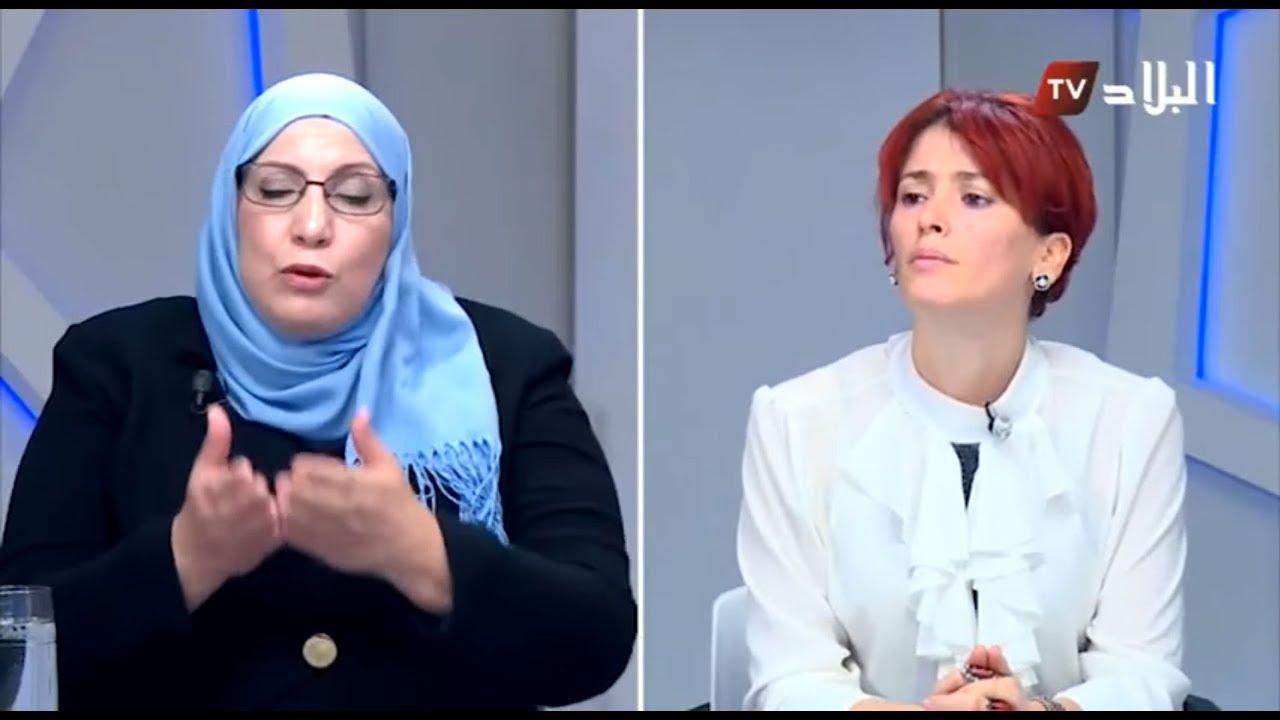Messaouda Cheballah du MDS sur El Bilad TV à propos des droits des femmes en Algérie