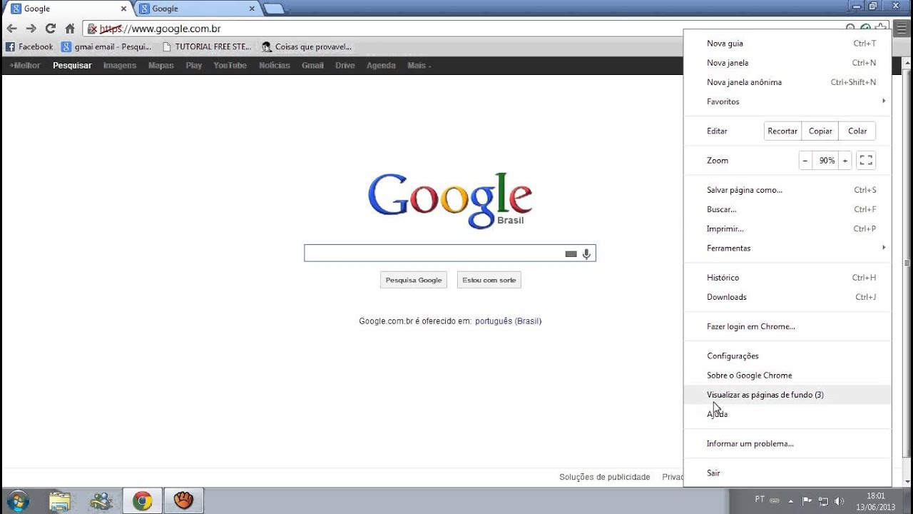 how to make youtube your homepage on google chrome