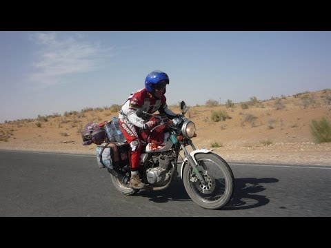 Don't tell Mama I've gone to Mongolia by Motorcicle