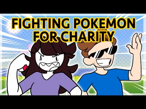 JAIDEN & ALPHARAD FIGHT POKEMON FOR A GOOD CAUSE