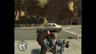 GTA IV   System walki wręcz