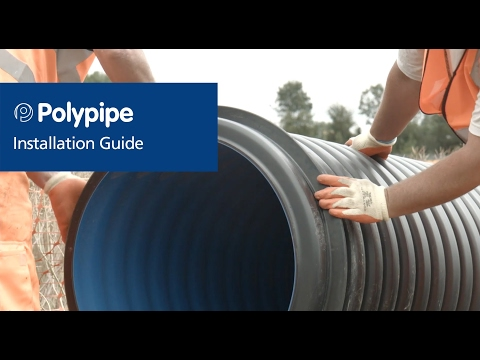 Drain and Sewer Piping Systems – Installation and Air Testing   Polypipe Civils