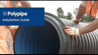 Drain and Sewer Piping Systems – Installation and Air Testing | Polypipe Civils