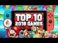 The Top 10 BEST Switch Games of 2018! (RANKED)