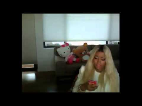 Nicki Minaj on USTREAM (February 22, 2013)