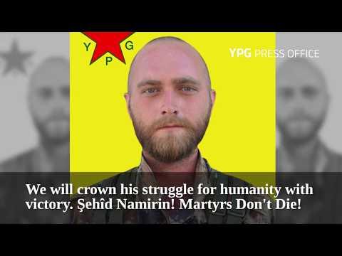 YPG's American volunteer David Taylor was martyred July 16 fighting Daesh in Raqqa
