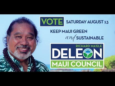 Richard Deleon for Maui County Council