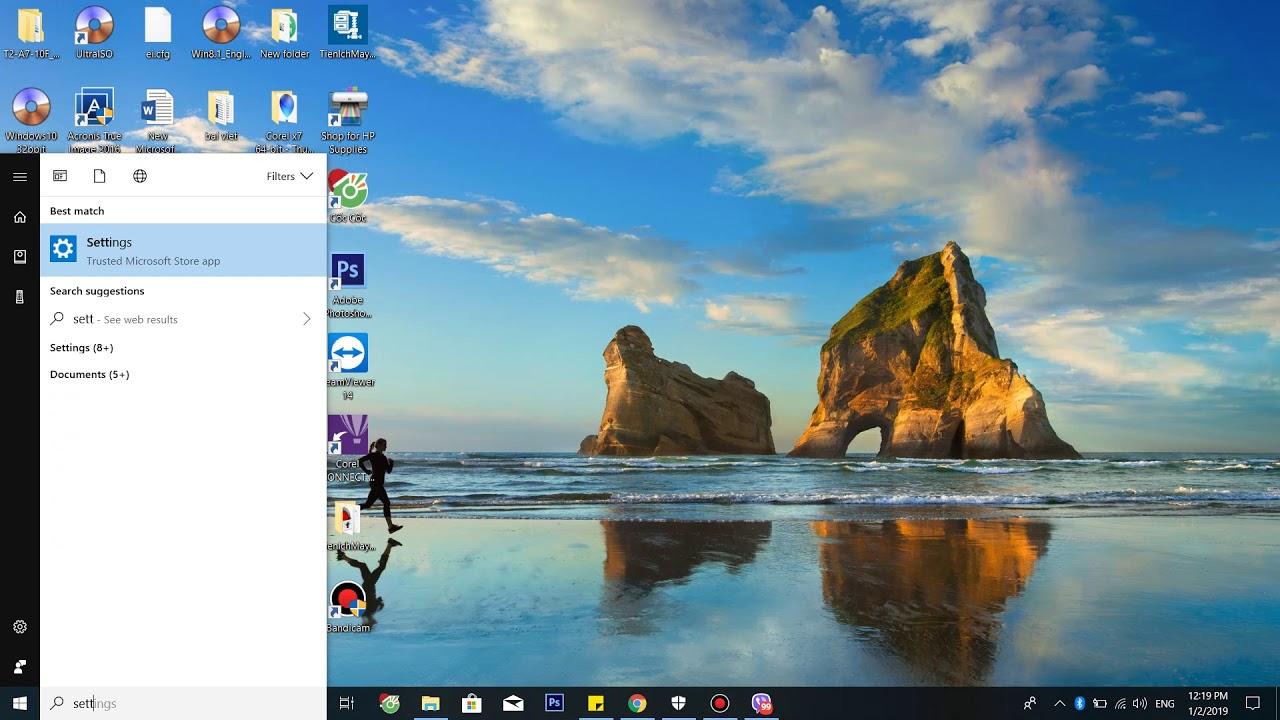 Bật tắt Bluetooth – kết nối Bluetooth với laptop win 10