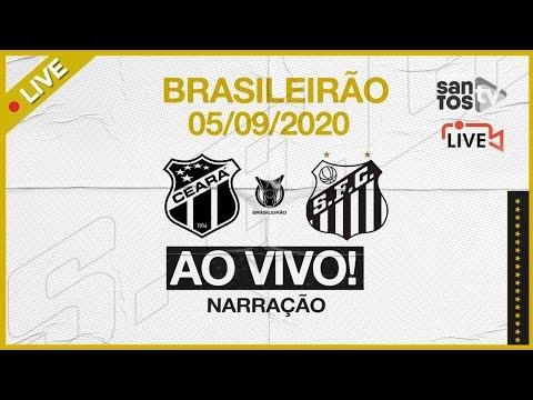 🔴 AO VIVO: CEARÁ 0 x 1 SANTOS | BRASILEIRÃO (05/09/20)