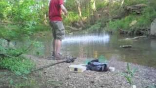 Fishing for catfish, April 25 2011
