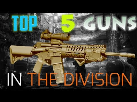 TOP 5 BEST GUNS In The Division