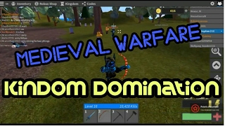 Roblox Medieval Warfare Reforged | FULL OUT KINDOM DOMINATION