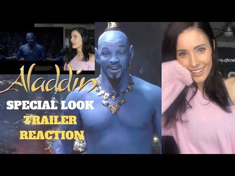 ALADDIN Trailer 2 - Special look REACTION