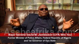 How I founded FRSC 40 Years Ago--Gen. Jemibewon