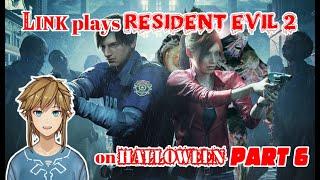 Link plays Resident Evil 2 on Halloween - part 6