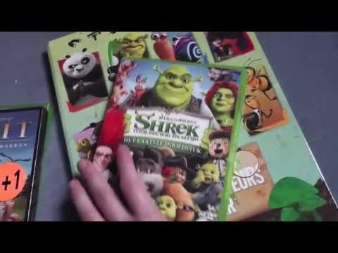 Dreamworks package and Dreamworks card Album - YouTube