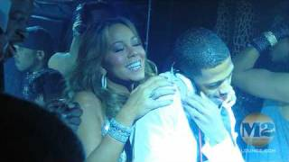 Mariah Carey & NickCannon New Year Party 2010 @ M2- 12/31/09-HD