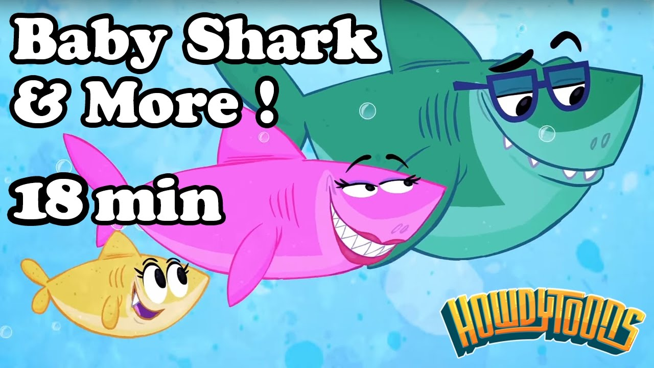 Baby Shark and More! Children's songs collection from ...