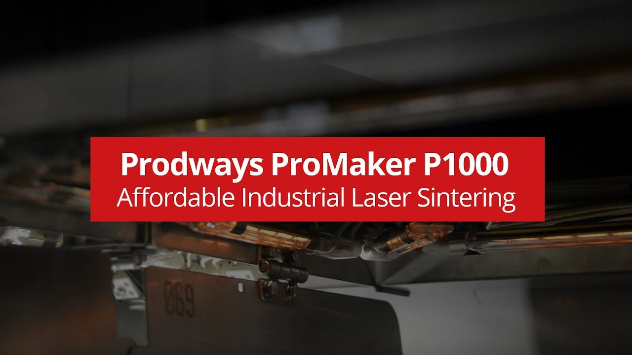 Prodways - ProMaker P1000 SLS® 3D Printer - Affordable Industrial Laser Sintering