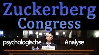 🗳 Mark Zuckerberg im Congress • Psychologische Analyse (Highlights)