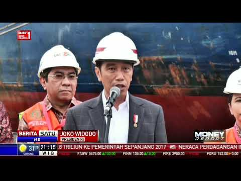 Presiden Jokowi Lepas Ekspor Produk Manufaktur ke AS