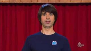 Demetri Martin   Happy scared