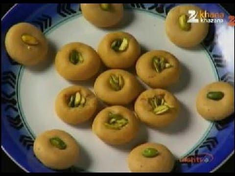 Mathura Ka Peda Recipe By Sanjeev Kapoor   Quintessential Indian Sweet   Khana Khazana