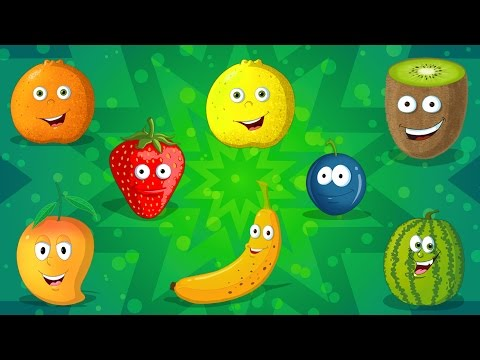 Fruits Song | Learn Fruits | Fruits Compilation for Kids & Toddlers